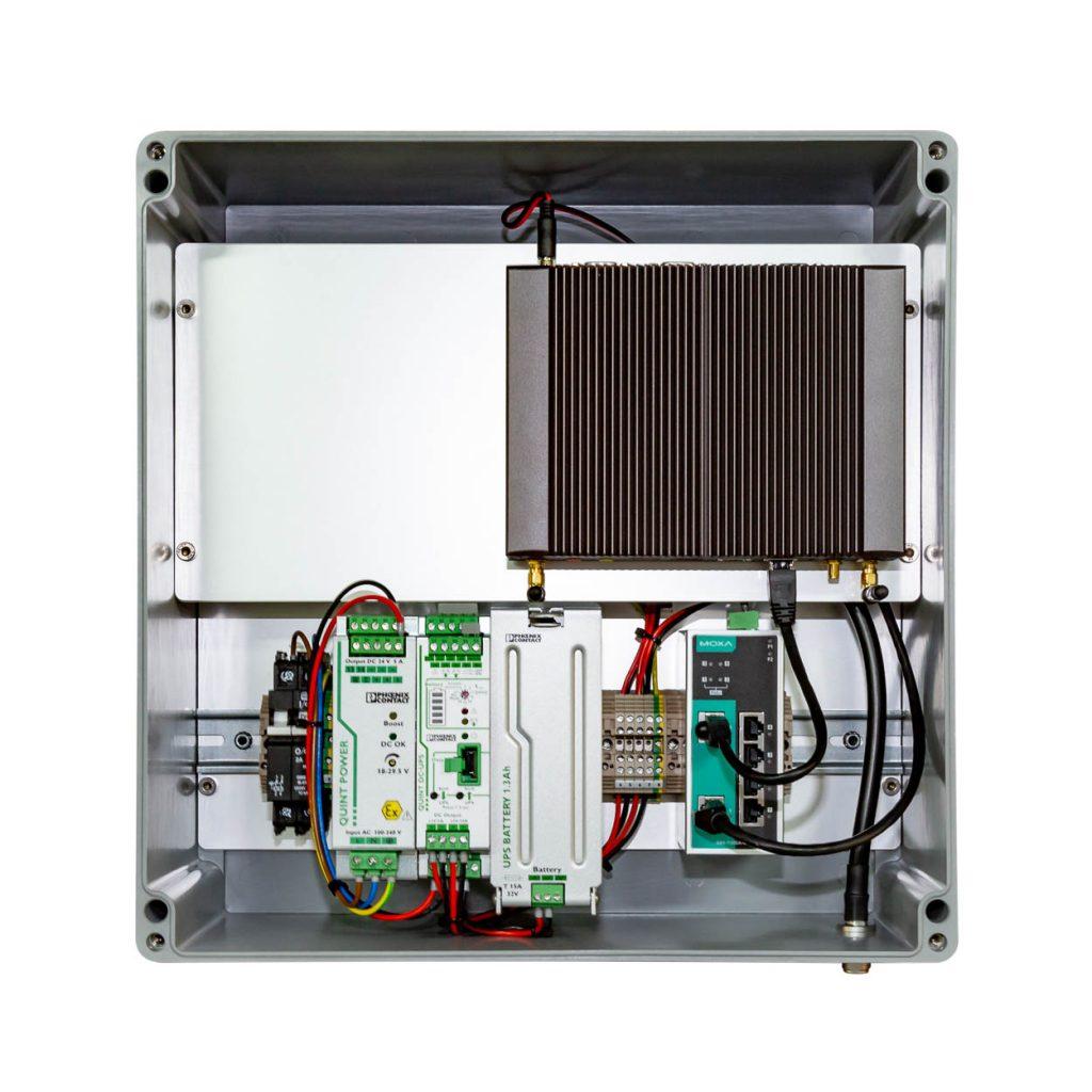 CPN Enclosure M2M CCTV w/ Battery Backup