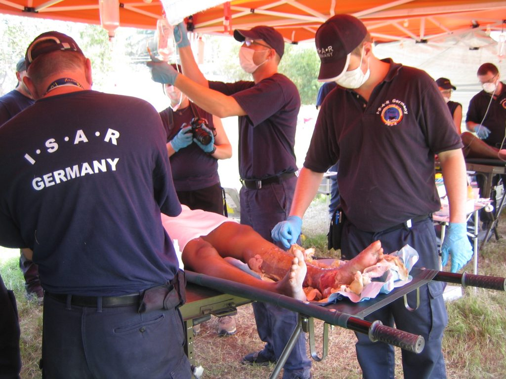 I.S.A.R. ist eine Hilfsorganisation