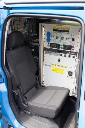 VW Caddy Übertragungswagen - 04