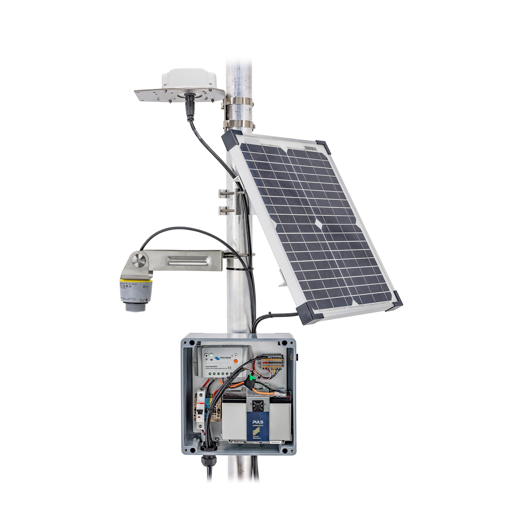 Wasserpegelmessung, Wasserpegelüberwachung, Füllstandüberwachung